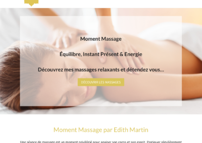 Moment massage