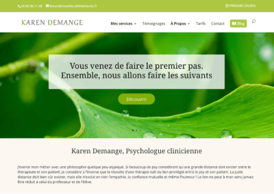 Cabinet Karen Demange – Psychologue clinicienne